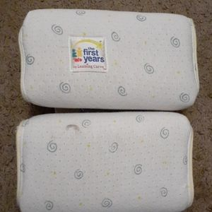 Safety pads to prevent rolling.